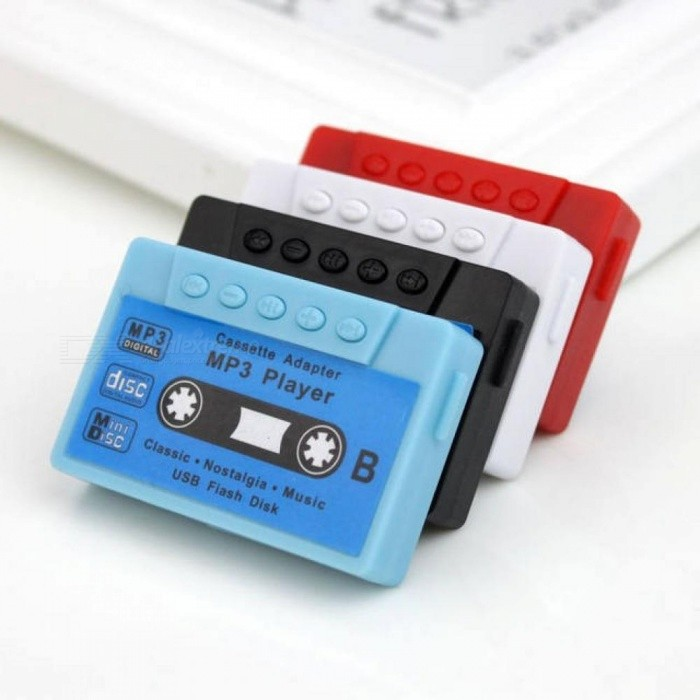 Magnetic Tape MP3 Player Support Micro 32G SD Card TF Card Music Media Player 3.5mm Jack Multi Color AVailable