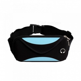 Fashion Men Waist Pack Waist Bag Waterproof Fanny Pack Women Belt Bum Bag Mens Phone Wallet Pouch Bags Black