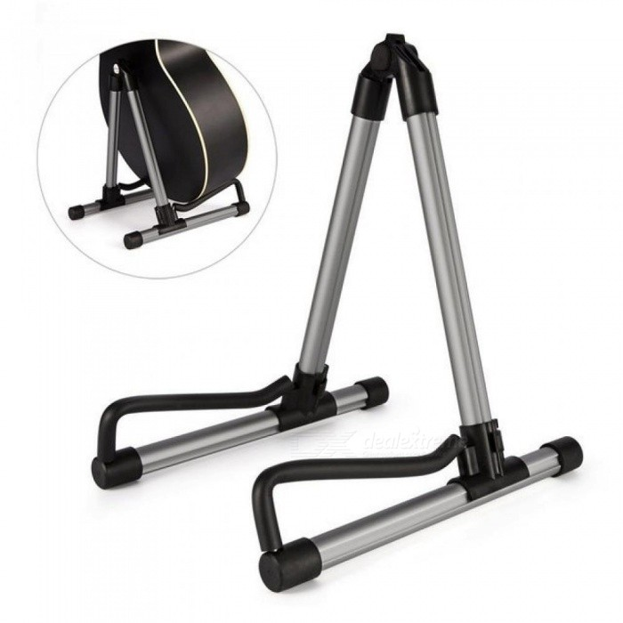 Light Weight Guitar Stand Aluminum Alloy Foldable Acoustic Electric Classic Bass Guitarra Music Instrument Stand Hanger