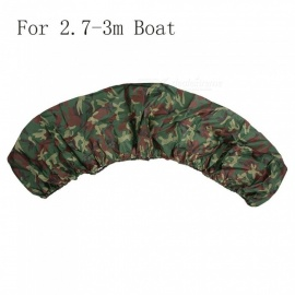 Kayak Storage Cover 3.5m / 4.5m Waterproof Boat Canoe Storage Dust Cover Shield Kayak Accessory UV Protection Block Boat Cover Green