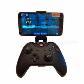 Phone Mount HandGrip Stand for Xbox ONE S/Slim Ones Controller for Steelseries Nimbus Gamepad iphone X Samsung S9 S8 Clip Holder Black