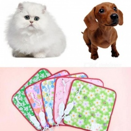 Animals Bed Heater Mat Heating Pad Cat Dog Bed Body Winter Warmer Carpet Pet Plush Electric Blanket Heated Seat 40x40cm 40x40cm