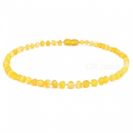 Baltic Amber Teething Necklaces And Bracelets With Round Charms Multi Size With Multi Color Options Available Standard 13in 33cm/Multicolor