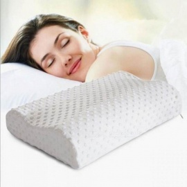 Slow Rebound Foam Memory Pillow Orthopedic Neck Care Pillows In Bedding Cervical Health 30*50cm Baby/Adult Pain Release White
