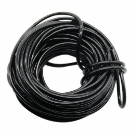 10m/20m/40m Watering Hose 4/7 mm Garden Drip Pipe PVC Hose Irrigation System Watering Systems for Greenhouses Black/10m(32.8ft)/1/4''