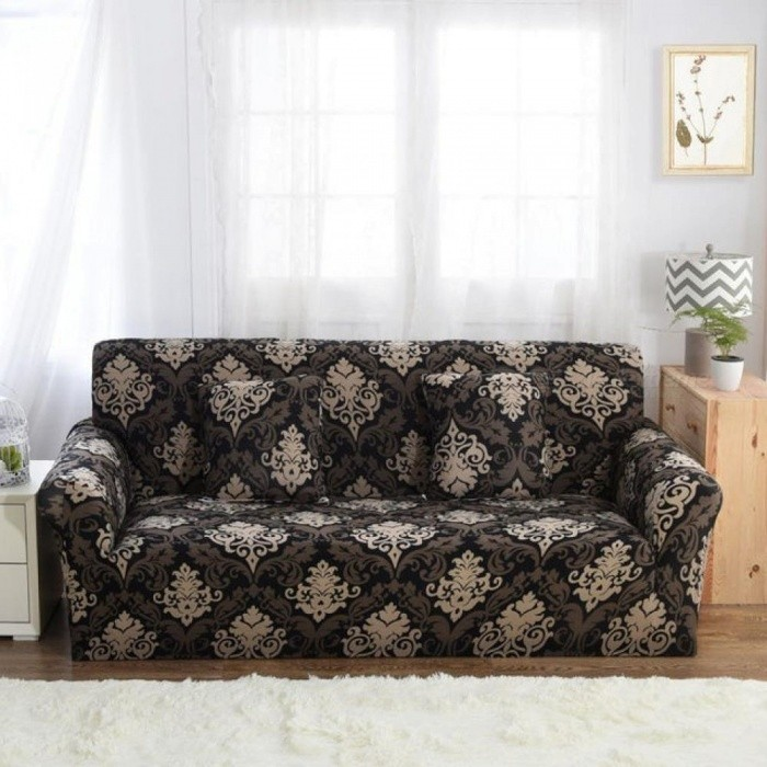 Remarkable Sofa Slipcovers Tight Wrap All Inclusive Slip Resistant Elastic Cubre Sofa Towel Corner Sofa Cover Couch Cover 1 2 3 4 Seater 4 Seater Color 22 Interior Design Ideas Gresisoteloinfo