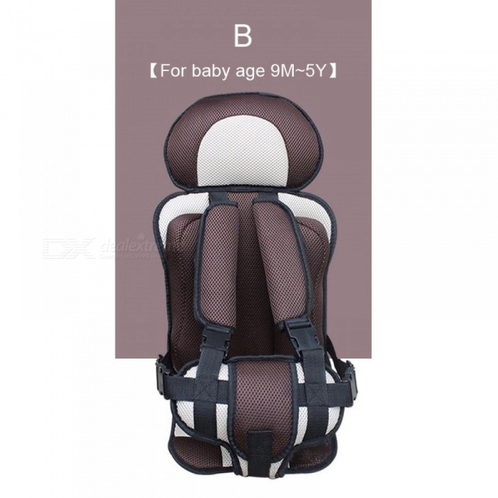 Adjustable Baby Safe Seat For 6 Months 5 Years Old Toddler Booster