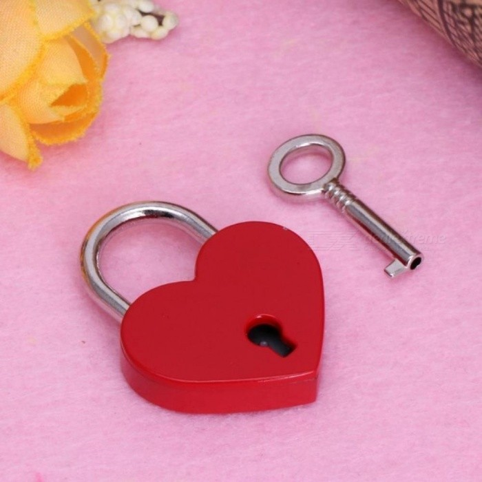 Old Vintage Antique Style  Padlocks With Keys Assorted Color