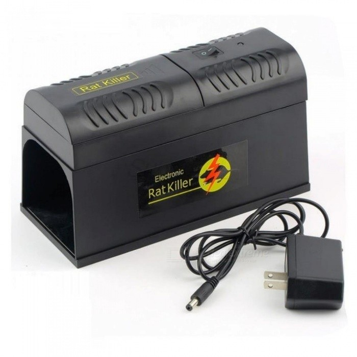 Electronic Rat Trap Mice Mouse Rodent Killer Electric Shock US Plug ...