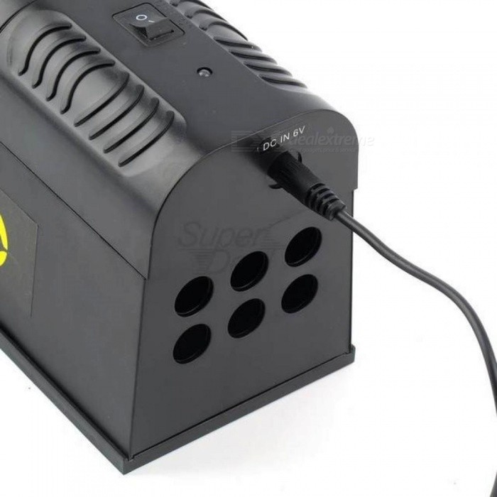 Electronic Rat Trap Mice Mouse Rodent Killer Electric Shock US Plug Adapter High Voltage With Black Color