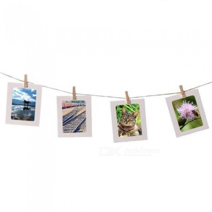 Combination Paper Frame with Clips and 2M Rope 3/4/5/6/7 Inch Wall ...