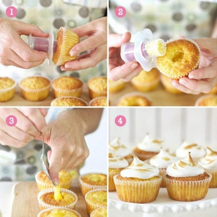 Baking Pastry Tools Cake Core Remover Pies Cupcake Cake Decorating