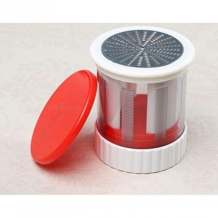 ABS Stainless Cheese Grater Butter Mincer Grinder Baby Food Supplement Mill Fruits Vegetable Shredder Slicer Kitchen Tools