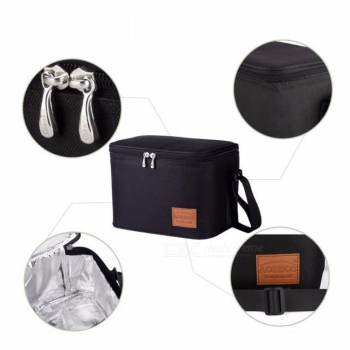 2d10849a1fbd Portable Thermal Lunch Bags for Women Kids Men Multifunction Food Picnic  Cooler Box Insulated Tote Bag