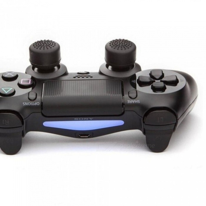 Enhanced Silicone Analog Controller Thumb Stick Grip Cap Skin Cover for Sony PlayStation 4 PS4 Controller PS4 Slim PRO 8pcs/Lot