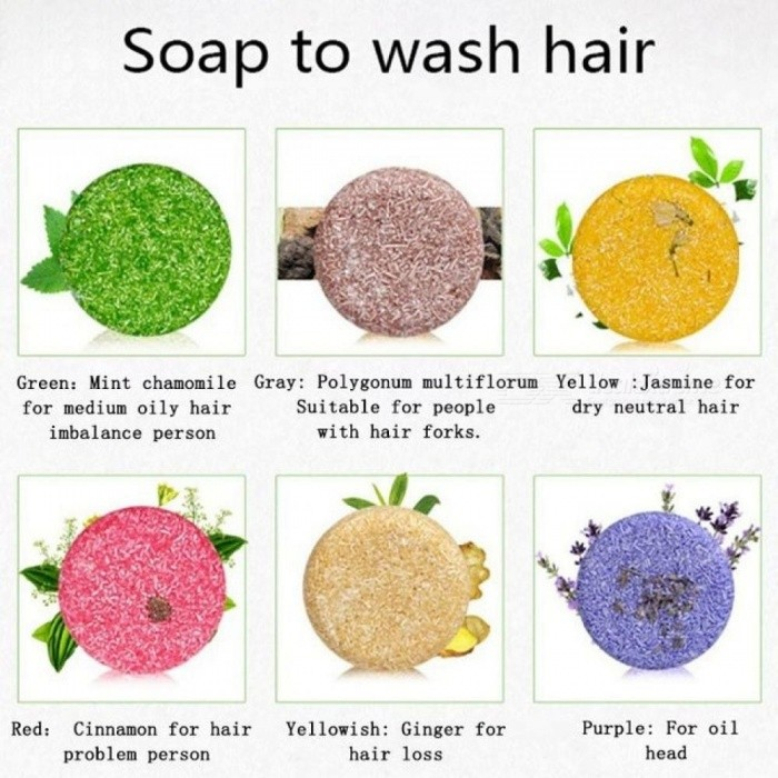 Hair Shampoo Soap Anti-Dandruff Moisturizing Hair Soap Makeup Fragrance Smooth Maquiagem Diagnostic-tool Without Silicone