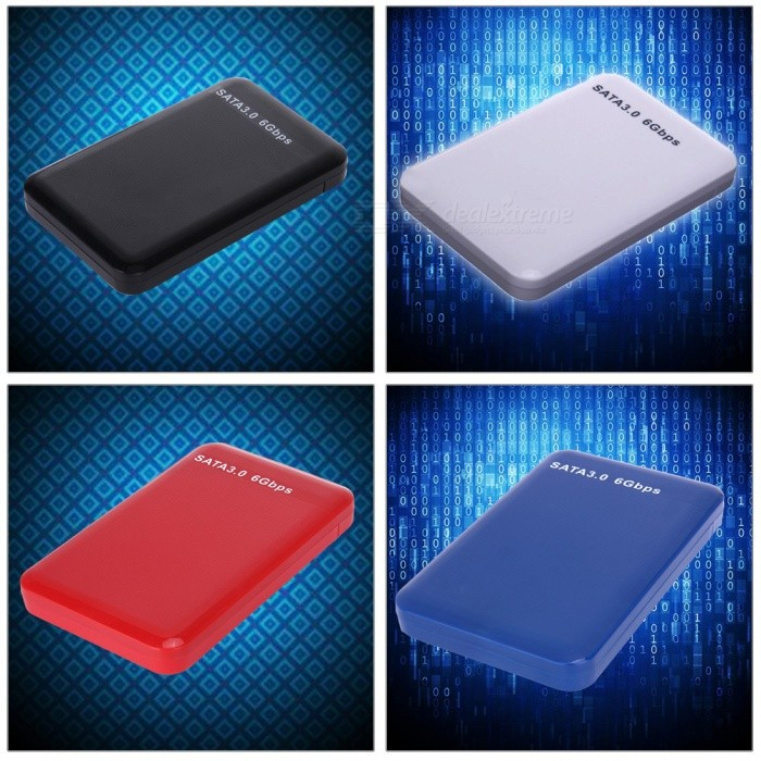 USB 3.0 HDD case Tool Free 2.5Inch 9.5mm Sata SSD HDD Enclosure For Notebook Desktop PC HD Externo Hard Disk Box