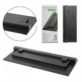 For XBOX ONE Slim Xbox One S Stand Game Console Vertical Stand Base Holder Plastic Material With Black Color Black
