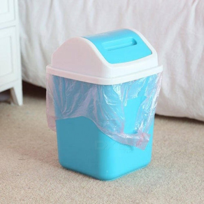 1-Roll Rubbish Garbage Kitchen Toilet Clean-up Waste Trash Bags 5 Colors