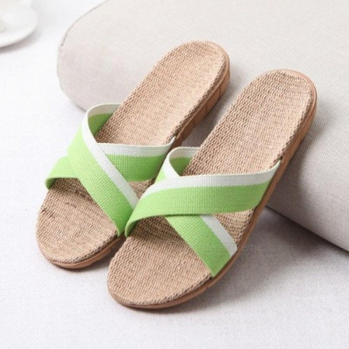 cc53b7959e7b Summer Home Slipper Women Indoor Bedroom Slippers Women 22 Gradient Color  Plus Size Beach Flat Shoes