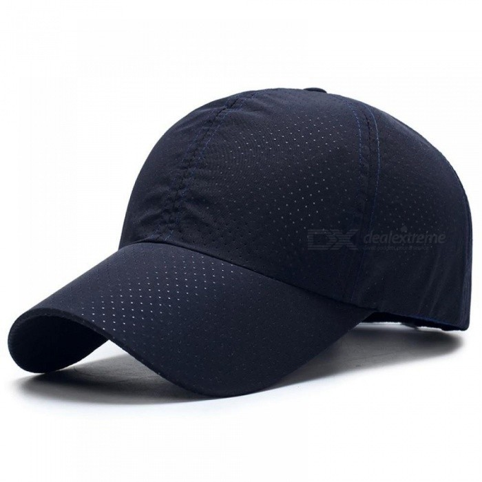 ... Men Women Summer Snapback Quick Dry Mesh Baseball Cap Sun Hat Bone  Breathable Hats Unisex Outdoor ... 6487afa504f