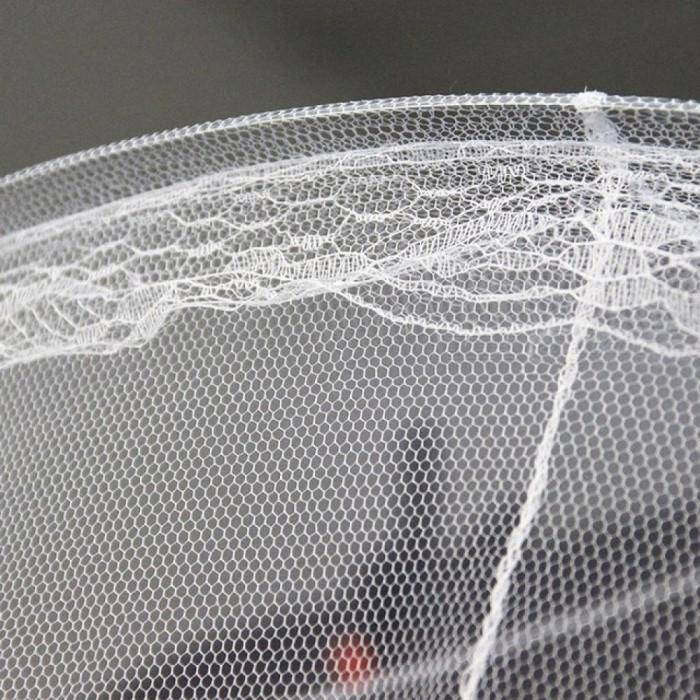 White House Bed Lace Netting Canopy Circular Mosquito Net Mosquitera Malla De Mosquito Size For 250*60cm
