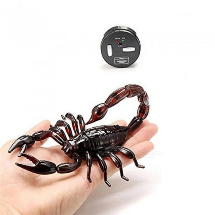High Simulation Animal Scorpion Infrared Remote Control Kids Toy Gift Simulation Animal ABS & Electronic Components
