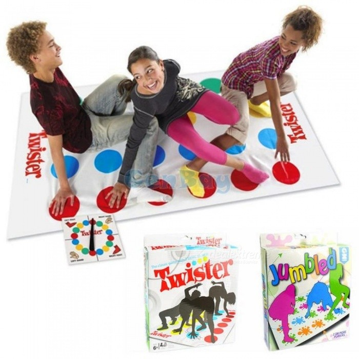 how to play twister with 2 players