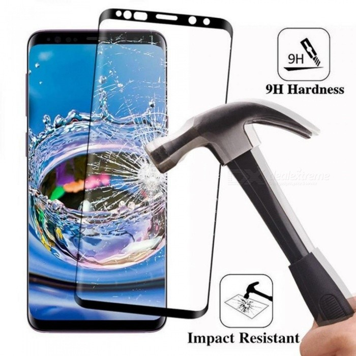 6D Full Curved 5D Tempered Glass for Samsung Galaxy S8 S9 Plus 3D Screen Protector Film