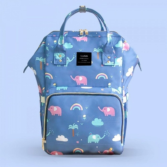 Land Diaper Bag Backpack Fashion Mummy Maternity Bags for Mother Large  Waterproof Baby Care Nappy Changing 358b4f8665613