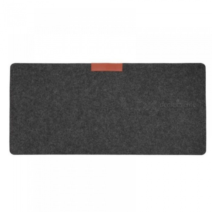 Soft And Wearable Office Computer Desk Mat Modern Table Wool Felt Laptop Cushion Large Mousepad Gaming Mouse Pad Navy Blue