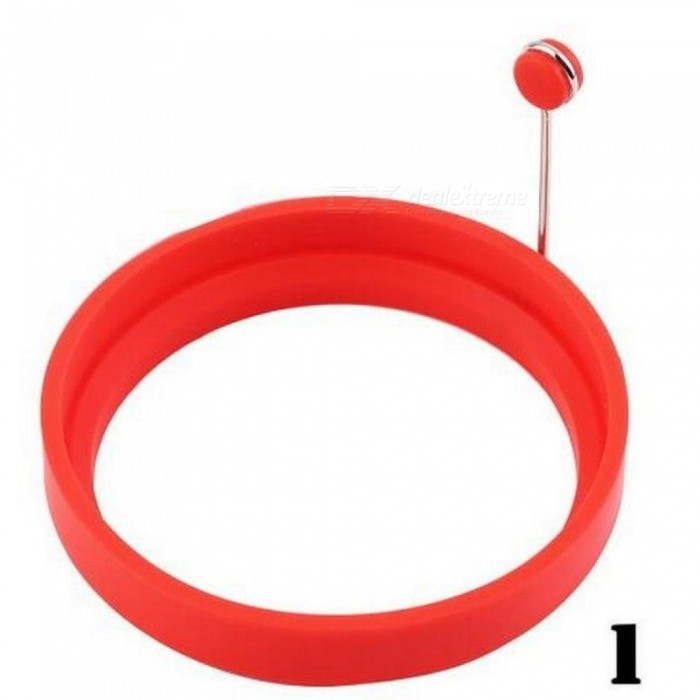 Silicone Fried Egg Pancake Ring Omelette Fried Egg Round Shaper Eggs Mould For Cooking Breakfast Frying Pan Oven Kitchen