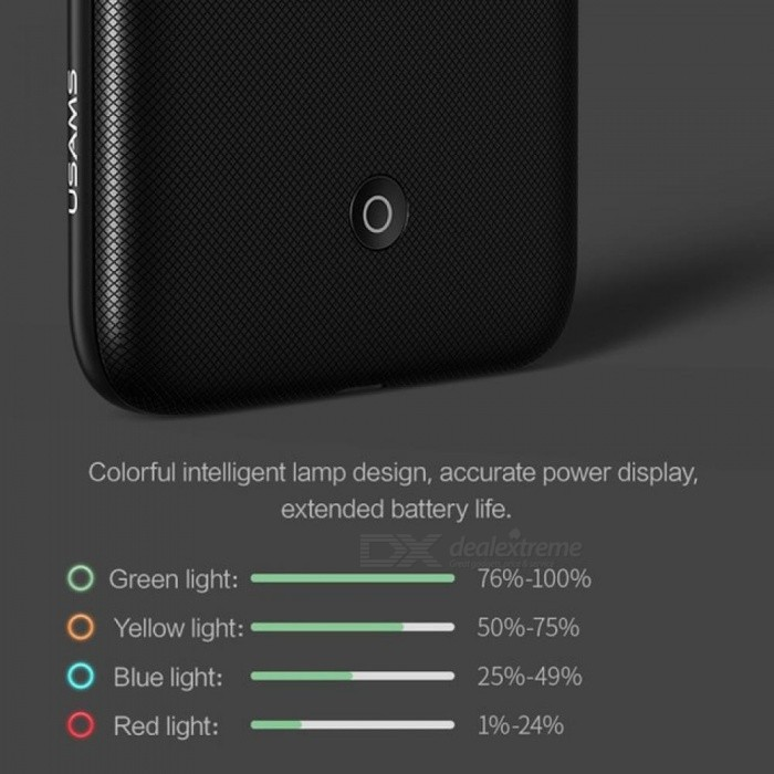 Battery Charger Cases for iPhone 6 6s 7 8 Plus 3000/4200mAh Power Bank Case Ultra Slim External Pack Backup Charger Case