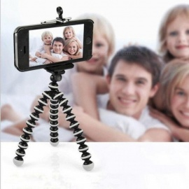 Flexible Octopus Tripod for Phone with Phone Clip Tripod for iPhone 8 7 6 DSLR Gopro Xiao Yi 4K SJCAM Camera Stand Mount 2