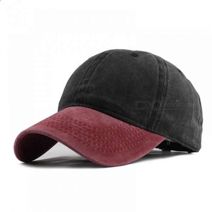 9 Mixed Colors Washed Denim Snapback Hats Autumn Summer Men Women Baseball  Cap Golf Sunblock Beisbol Casquette Hockey Caps Adjustable F240 Red Black  ... 5a0d2f96676