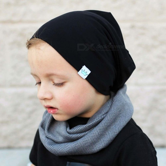 494860f9e Cute Solid Knitted Cotton Hat Beanies For Newborn Baby Children Autumn  Winter Warm Earmuff Colorful Crown Caps Skullies Misty Turquoise