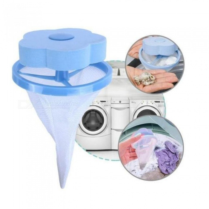 Flower Laundry Clean Ball Reusable Laundry Filtration Hair Washing Machine Removal Washing Powder Cleaning Tools