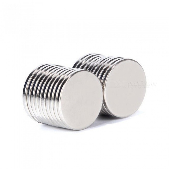 20pcs 20mm x 2mm N52 Rare Earth Neodymium Magnets Strong Permanent Craft Model Magnet Rare Earth Magnet