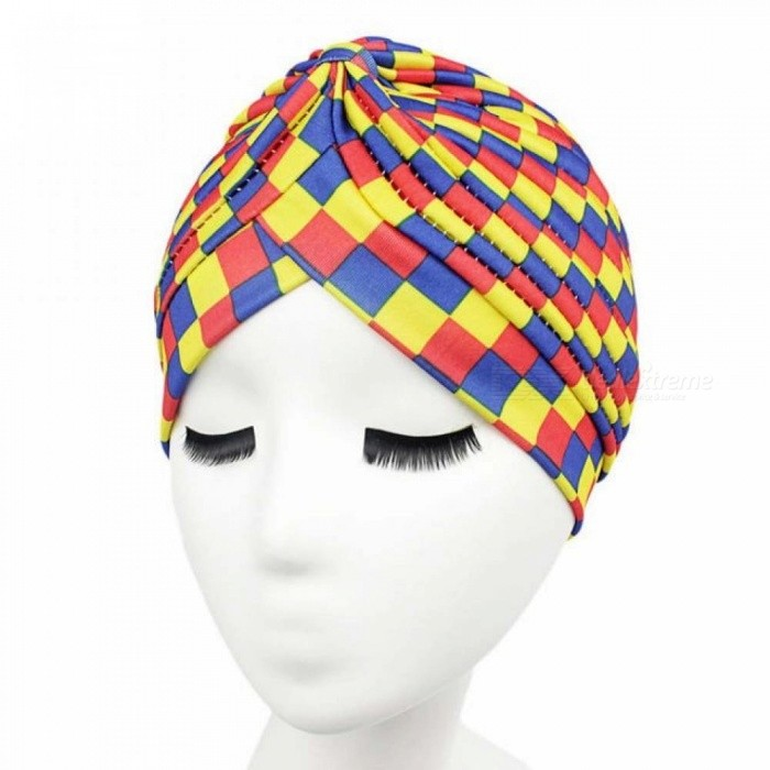 11Color Summer Bandanas Women Muslim Stretch Turban Headwear Lady Chemo Hair Warp Beanie Headcover Hijab Headband Exercise