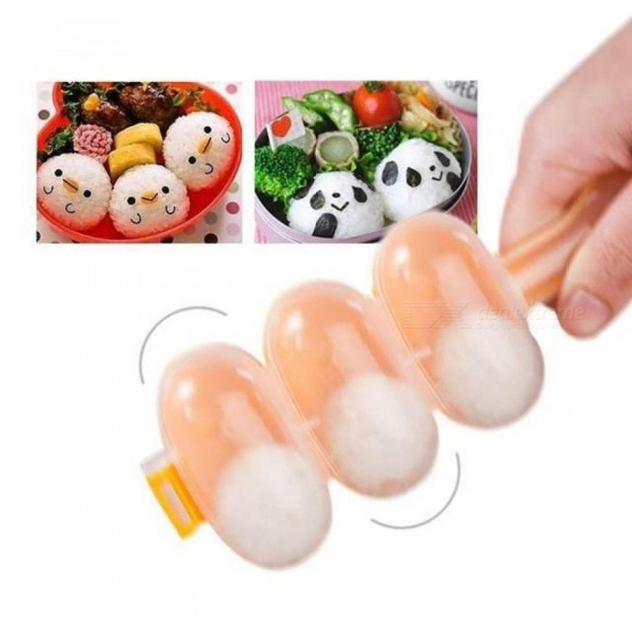 Sushi Mold rice ball Maker DIY Sushi Maker Rice Mold Kitchen Sushi Making Tools Bento Accessories 1PCS