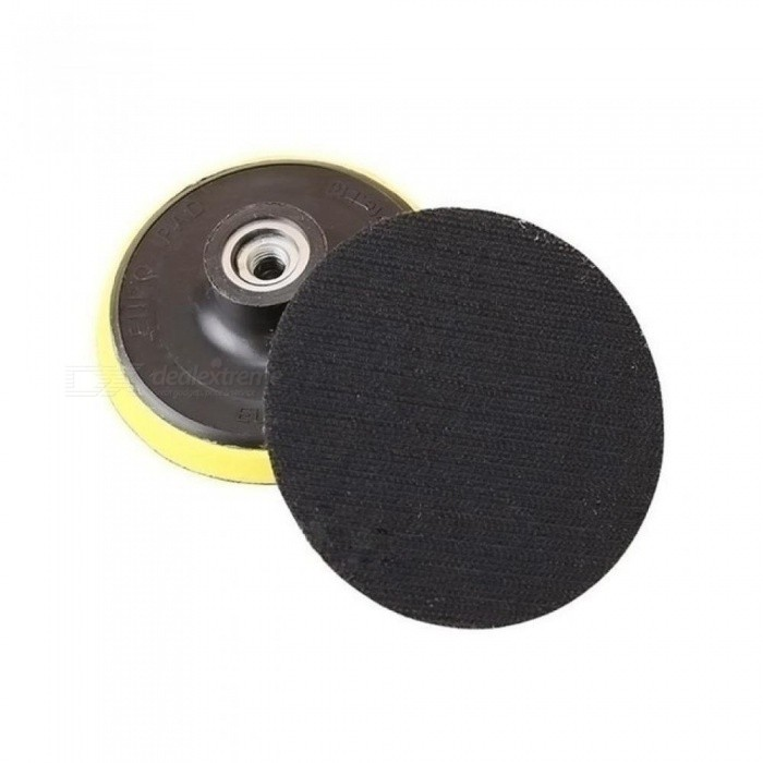 100mm Polishing Disk With Sticky Adhesive Sandpaper Disc Chuck Angle Grinder Accessories 1PCS Diameter 100mm