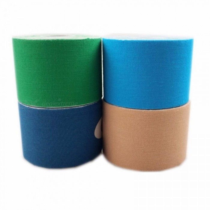 ... Sports Kinesio Muscle Tape Kinesiology Tape Cotton Elastic Adhesive Muscle Bandage Care Physio Strain Injury Support ...