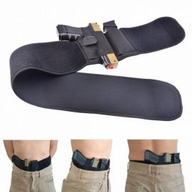 Left or Right hand Belly Band Holster Gun Pistol Holsters Fits for Glock 17 18 19 22 23 31 32 and most Pistol Right Hand