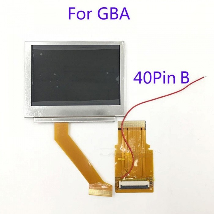 For Nintendo GameBoy Advance LCD Screen For GBA SP AGS 101 Highlit on