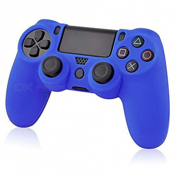 Soft Silicone Rubber Case Cover for Sony Play Station Dualshock 4 PS4 Wireless Controller Skin PlayStation Skin