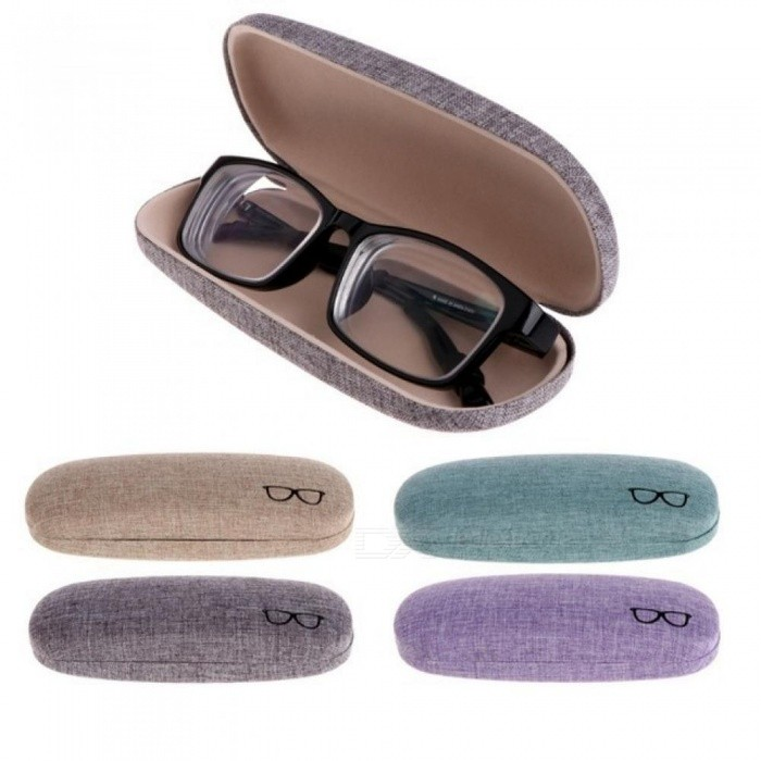 627629afd56ae Colorful Cover Case Optional Portable Sunglasses Hard Eyeglasses Case  Eyewear Protector Box Pouch Bag Gifts Beige - Worldwide Free Shipping - DX