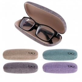 Colorful Cover Case Optional Portable Sunglasses Hard Eyeglasses Case Eyewear Protector Box Pouch Bag Gifts Purple