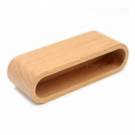 Vivid Craft Office Desk Accessories Business Card Holder Note Holder Display Device Card Stand Holder Wooden Desk Organizer Wood Color