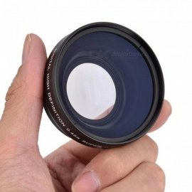 0.45X 52mm Wide Angle Lens with Macro for Nikon Coolpix D40/ D60/ D70s/ D3000/ D3100/ D5000 for Sony DSLR Camera Universal Nikon
