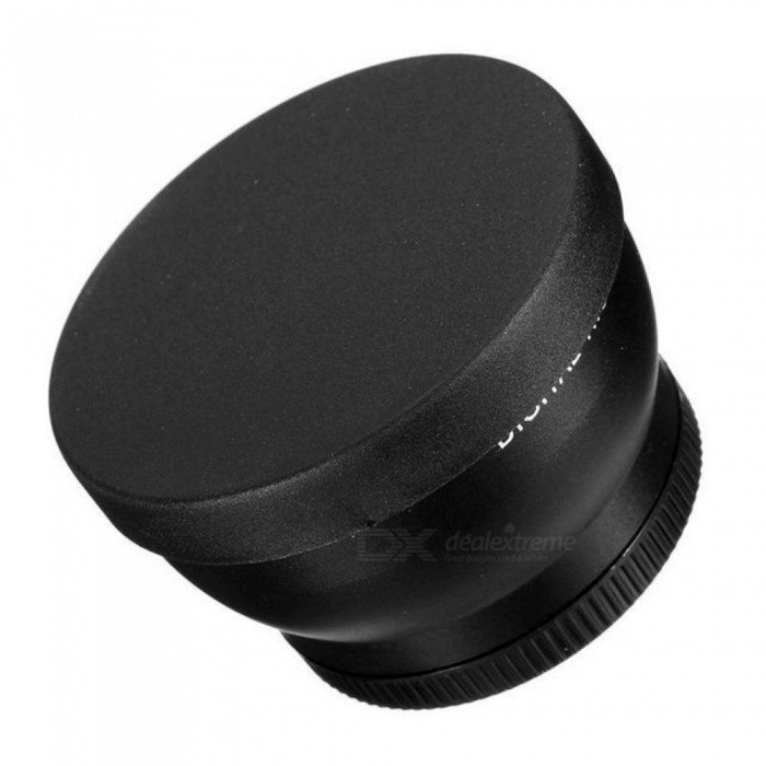 52mm Camera 2X Telephoto Lens for Nikon D7100 D5200 D5100 D3100 D90 D60 and Other DSLR Camera Lenses with 52mm Filter Thread